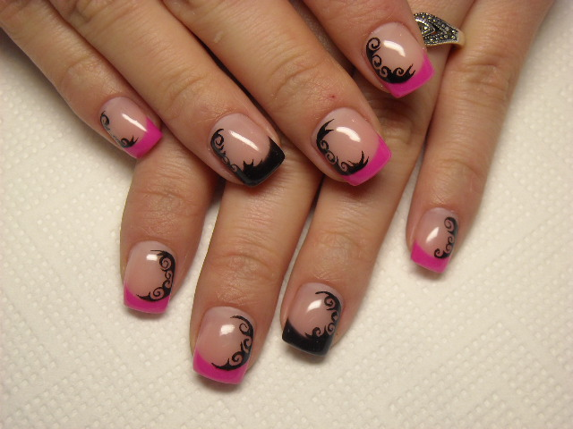 facebook nails :) - krixtinails